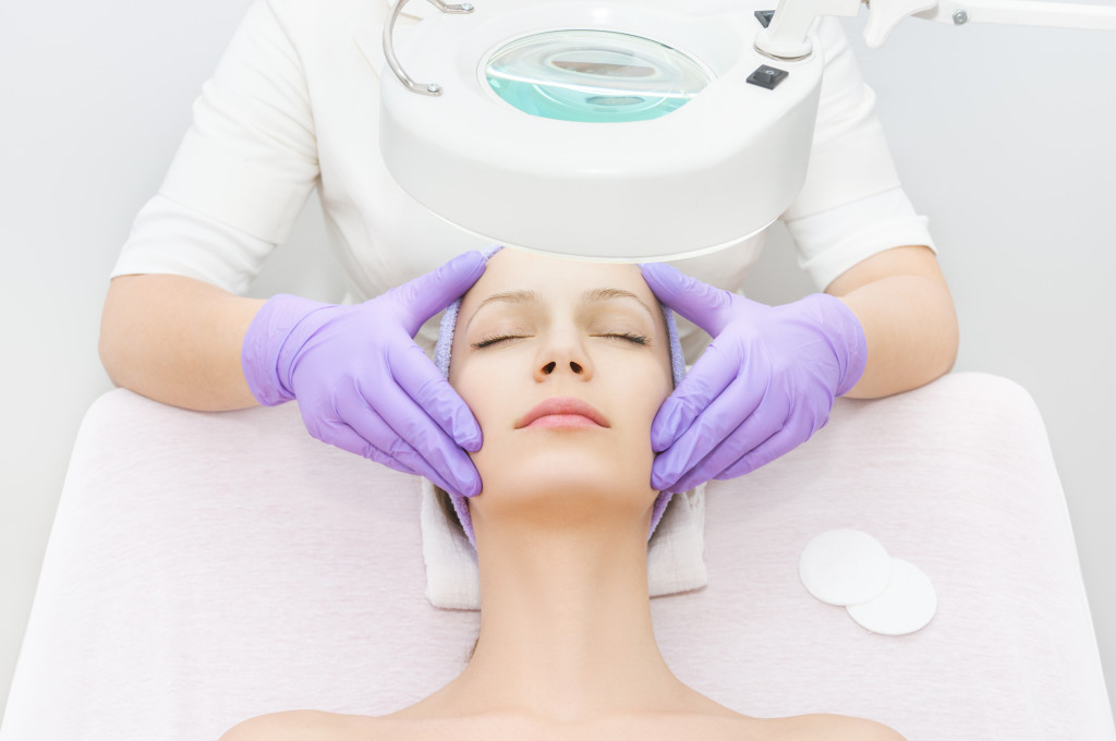 medical spa facial treatment