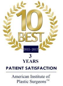 american institute plastic surgeons-award