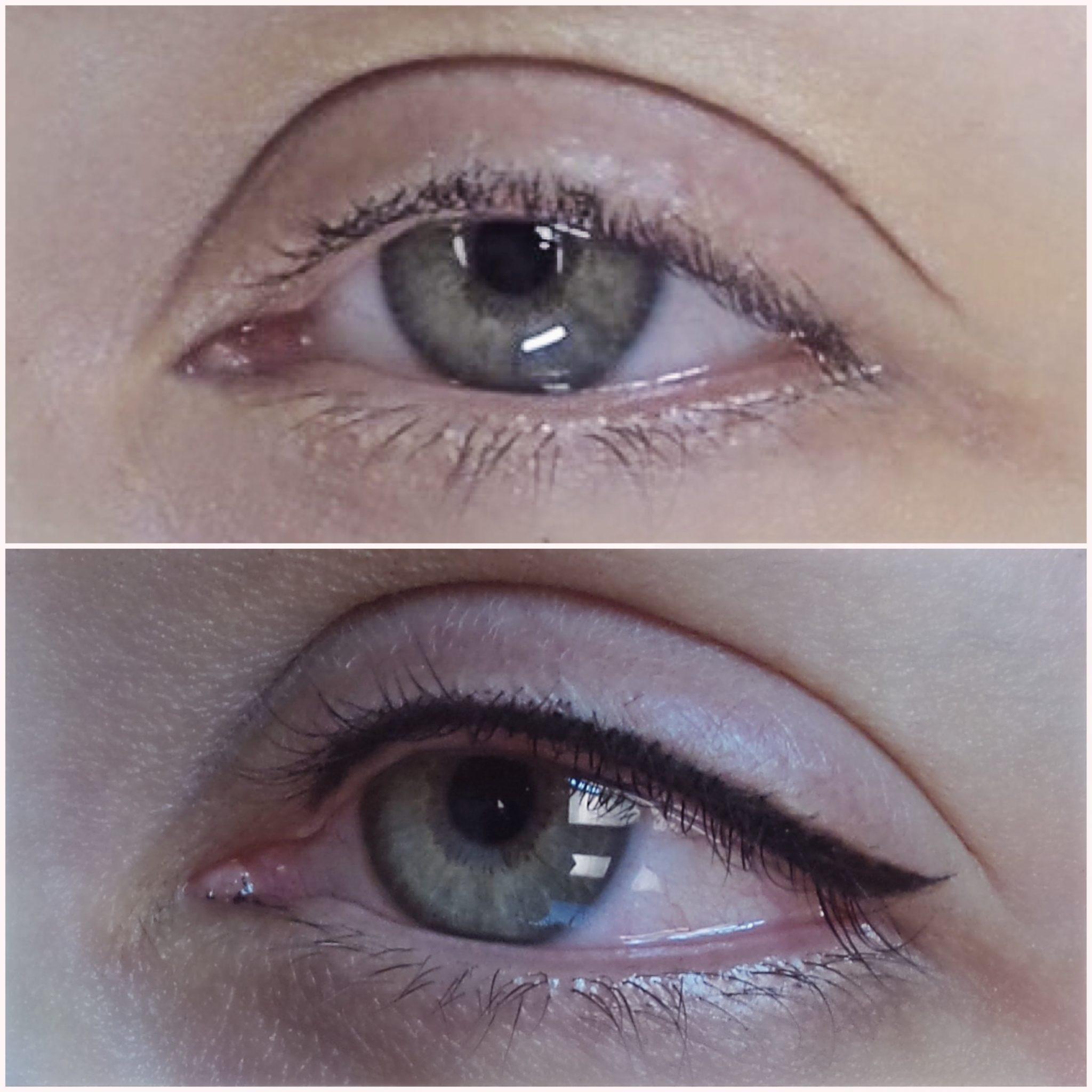 eyelash tattoo