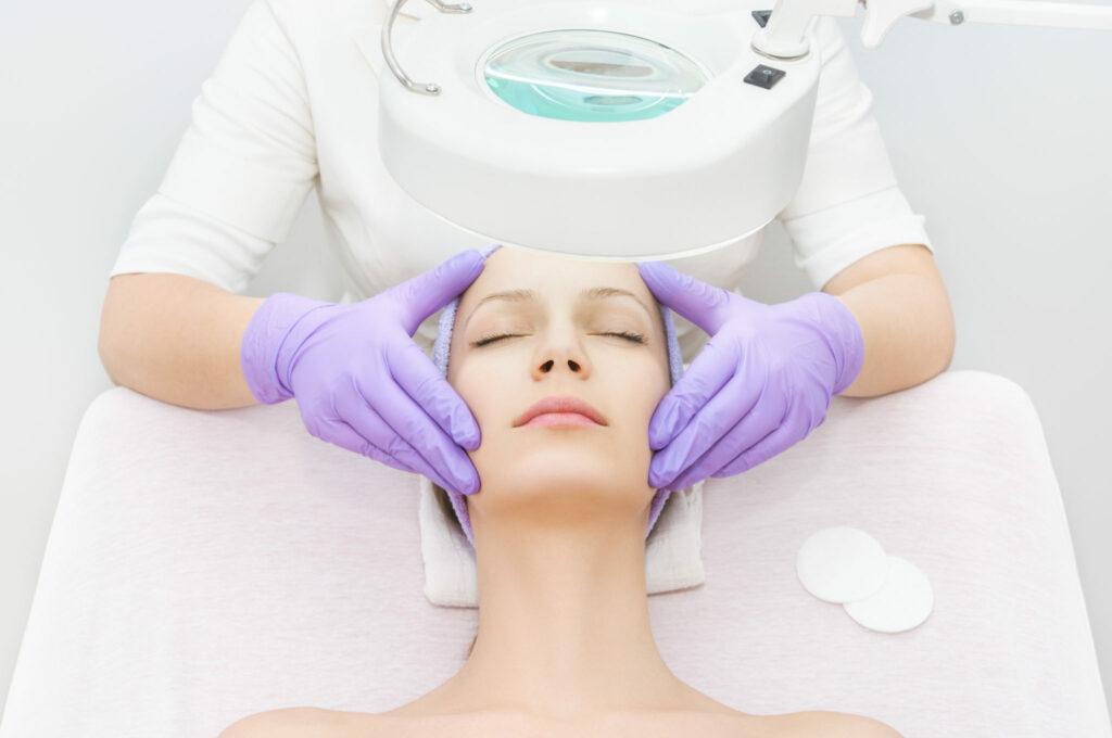 medical spa facial treatment